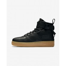 Nike SF Air Force 1 Lifestyle Shoes For Women Black/Gum Light Brown AA3966-002