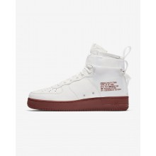 Mens Ivory/Mars Stone Nike SF Air Force 1 Lifestyle Shoes 917753-100