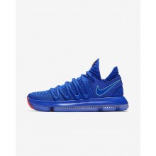 Nike Zoom KDX Basketball Shoes For Women Racer Blue/Black/Total Crimson/Light Menta 897815-402