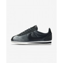 Nike Cortez Lifestyle Shoes For Women Anthracite/Metallic Gold/Black 902856-012