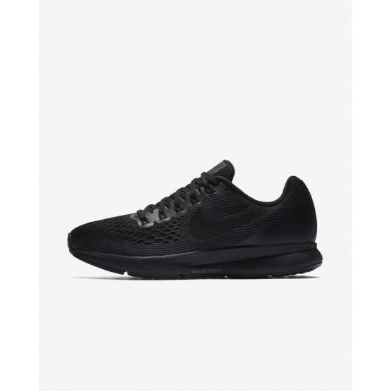 Womens Black/Anthracite/Dark Grey Nike Air Zoom Running Shoes 880560-003