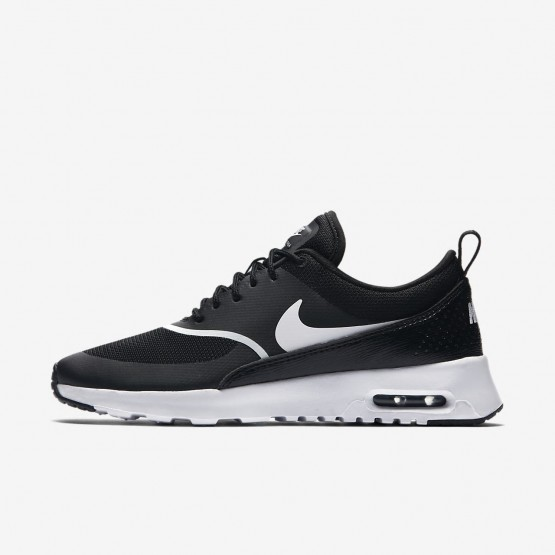 Nike Air Max Thea Lifestyle Shoes For Women Black/White 599409-028