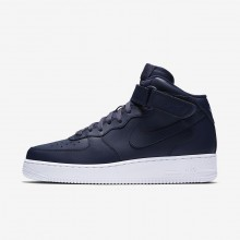 Mens Obsidian/White Nike Air Force 1 Lifestyle Shoes 315123-415