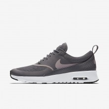 Nike Air Max Thea Lifestyle Shoes For Women Gunsmoke/Black/Particle Rose 599409-029