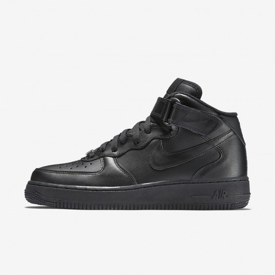 Womens Black Nike Air Force 1 Lifestyle Shoes 366731-001