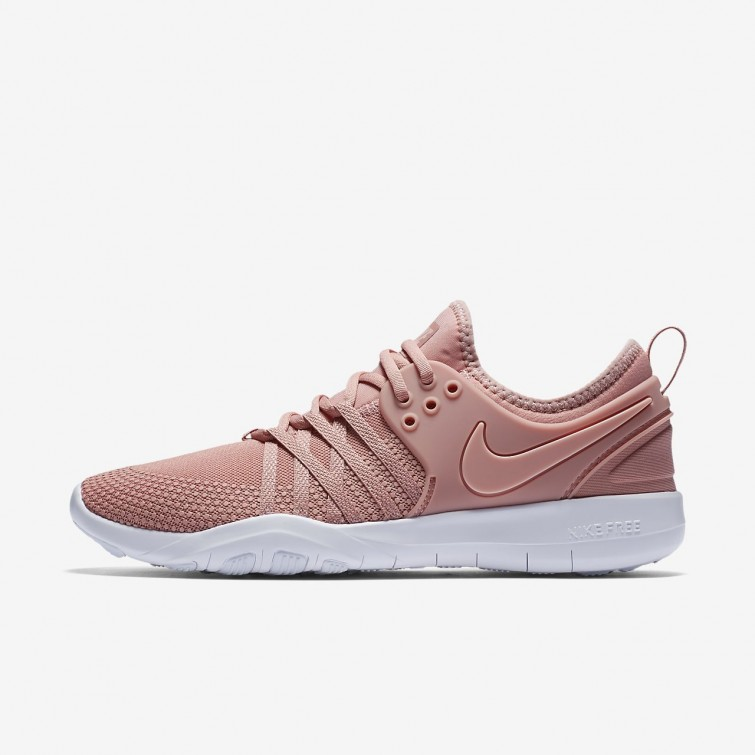 d3a2124932fd7f Nike Free TR Training Shoes For Women Rust Pink White Coral Stardust 904651-