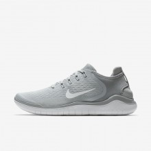 Nike Free RN Running Shoes For Men Wolf Grey/White/Volt 942836-003