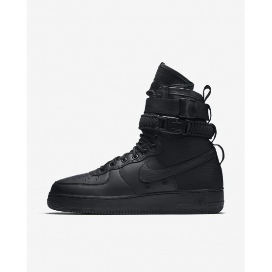 Mens Black Nike SF Air Force 1 Lifestyle Shoes 864024-003