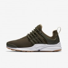 Nike Air Presto Lifestyle Shoes For Women Cargo Khaki/Neutral Olive/Gum Light Brown 878068-304