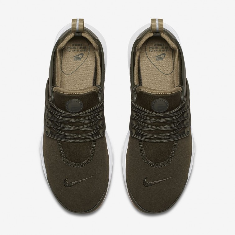 994a475be031 ... Womens Cargo Khaki Neutral Olive Gum Light Brown Nike Air Presto  Lifestyle Shoes 878068 ...