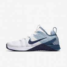 Nike Metcon DSX Training Shoes For Women White/Mica Blue/Night Factor/Navy 924595-101