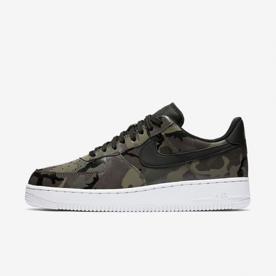 Mens Medium Olive/Baroque Brown/Sequoia/Black Nike Air Force 1 Lifestyle Shoes 823511-201