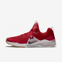 Mens Gym Red/Vast Grey/Gum Medium Brown/Deep Burgundy Nike Zoom Train Command Training Shoes 922478-606