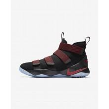 Nike LeBron Soldier XI Basketball Shoes For Women Black/Red Stardust/Gym Red 897644-008