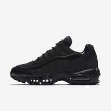 Womens Black Nike Air Max 95 Lifestyle Shoes 307960-010