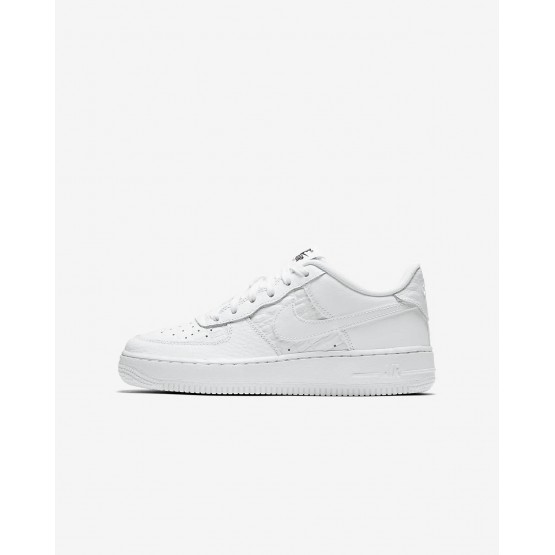 Nike Air Force 1 Lifestyle Shoes For Boys Summit White/Black 820438-106
