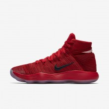 Nike React Hyperdunk 2017 Basketball Shoes For Women University Red/Reflect Silver 917726-600