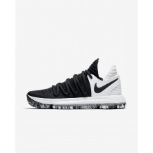 Womens Black/White Nike Zoom KDX Basketball Shoes 897815-008