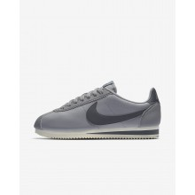 Womens Atmosphere Grey/Sail/Gunsmoke Nike Classic Cortez Lifestyle Shoes 807471-017