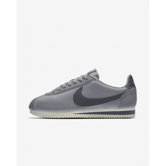 Chaussure Casual Nike Classic Cortez Femme Grise 807471-017