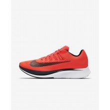 Mens Bright Crimson/Blue Fox/White/Black Nike Zoom Fly Running Shoes 880848-614