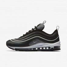 Womens Black/Anthracite/White/Pure Platinum Nike Air Max 97 Lifestyle Shoes 917704-003