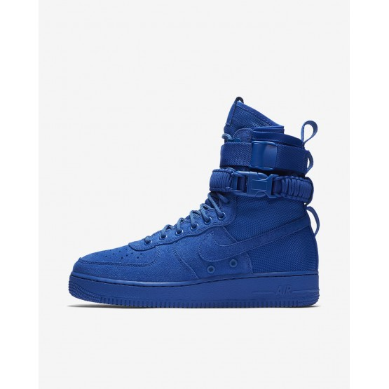 Mens Game Royal Nike SF Air Force 1 Lifestyle Shoes 864024-401
