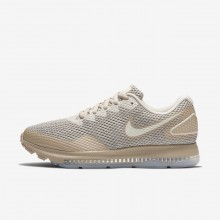 Womens Moon Particle/Sand/Sail Nike Zoom All Out Running Shoes AJ0036-201