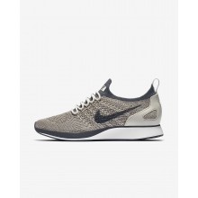 Womens Pale Grey/Summit White/Light Bone/Dark Grey Nike Air Zoom Lifestyle Shoes AA0521-002