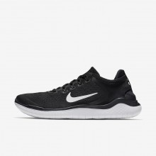 Mens Black/White Nike Free RN Running Shoes 942836-001