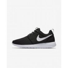 Womens Black/Dark Grey/White Nike Roshe One Lifestyle Shoes 844994-002