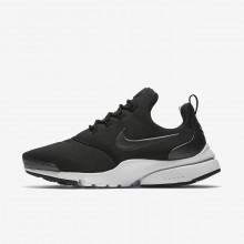 Nike Presto Fly Lifestyle Shoes For Women Black/White/Metallic Hematite 910570-003