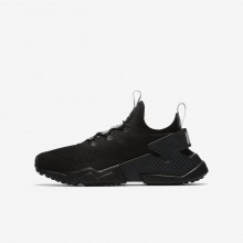 Nike Huarache Lifestyle Shoes For Boys Anthracite/Dark Grey/Wolf Grey 943344-001