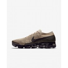 Mens Khaki/Anthracite/Pale Grey/Black Nike Air VaporMax Running Shoes 849558-201
