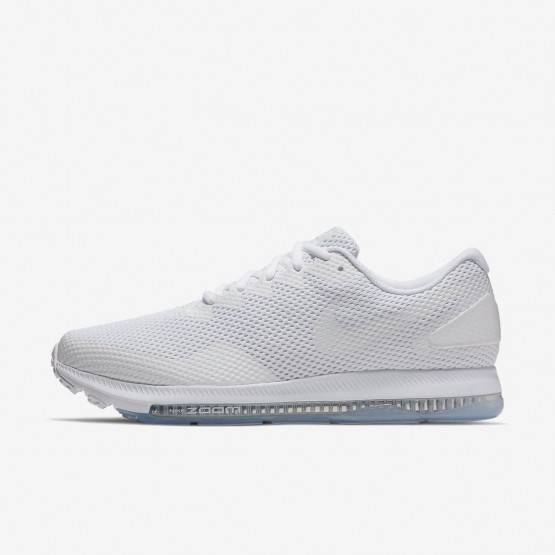 Mens White/Off White Nike Zoom All Out Running Shoes AJ0035-100