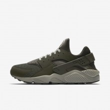 Nike Air Huarache Lifestyle Shoes For Men Sequoia/Dark Stucco/Black 318429-311