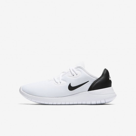 Boys White/Black Nike Hakata Lifestyle Shoes AO1242-100