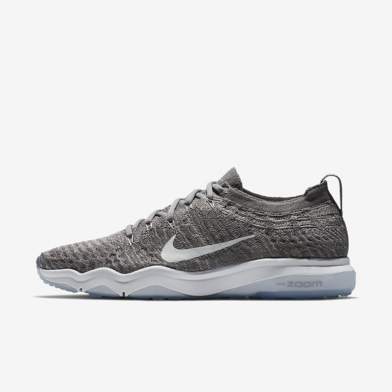 Womens Gunsmoke/Atmosphere Grey/White Nike Air Zoom Training Shoes 922872-005