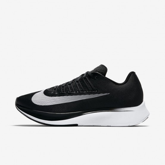 Womens Black/Anthracite/Wolf Grey/White Nike Zoom Fly Running Shoes 897821-001