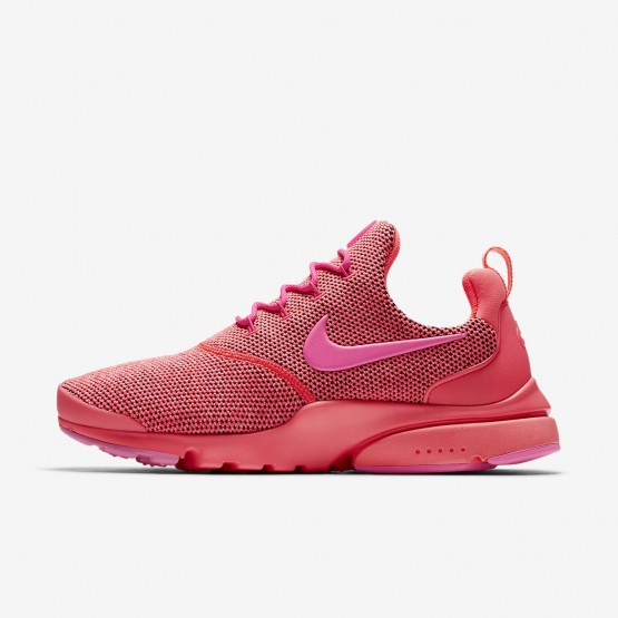 Womens Hot Punch/Pink Blast Nike Presto Fly Lifestyle Shoes 910570-604