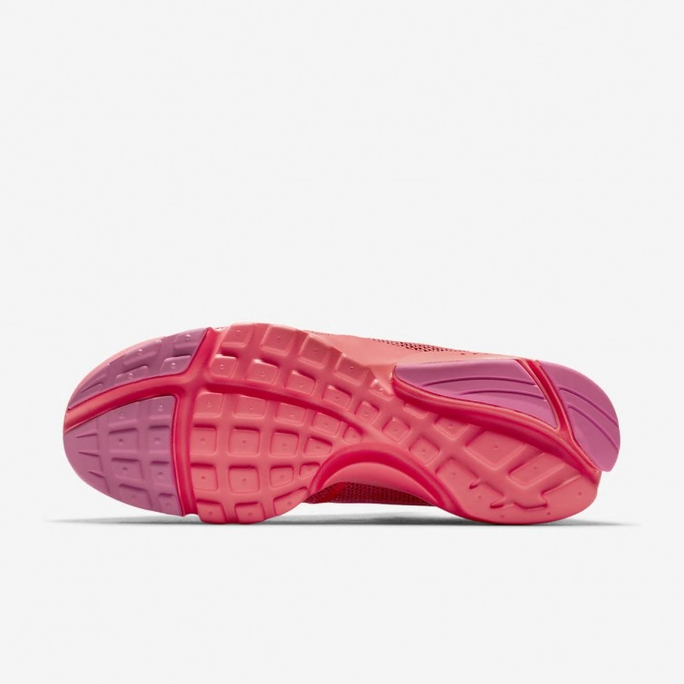 new product 13cce ad83f Womens Hot Punch/Pink Blast Nike Presto Fly Shoes New ...