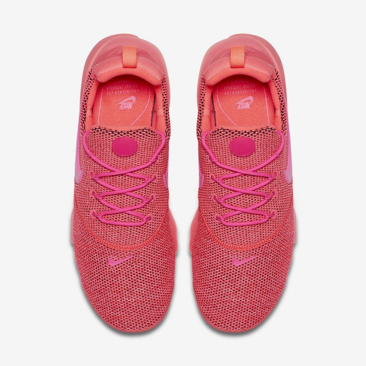 new product 3e817 c45fe Womens Hot Punch/Pink Blast Nike Presto Fly Shoes New ...