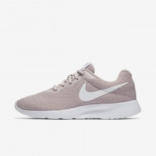 Womens Particle Rose/White Nike Tanjun Lifestyle Shoes 812655-605