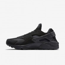 Nike Air Huarache Lifestyle Shoes For Men Black/Grey 318429-003