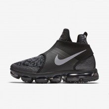 Mens Black/Anthracite/Team Orange/Reflect Silver Nike Air VaporMax Lifestyle Shoes AO9326-002