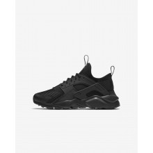 Boys Black Nike Air Huarache Lifestyle Shoes 847569-004