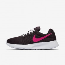 Womens Port Wine/White/Deadly Pink Nike Tanjun Lifestyle Shoes 812655-603