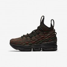 Boys Multi-Color/Black Nike LeBron 15 Basketball Shoes 943762-900
