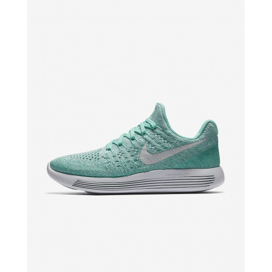 Womens Hyper Turquoise/Igloo/Clear Jade/Pure Platinum Nike LunarEpic Low Running Shoes 863780-301