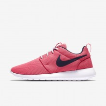 Womens Sea Coral/White/Obsidian Nike Roshe One Lifestyle Shoes 844994-801
